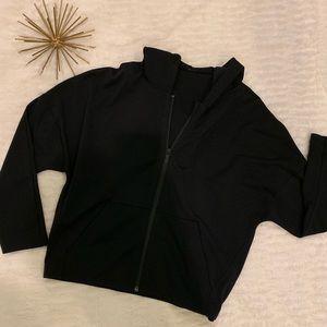 Like New Lululemon Black Zip Up Jacket Size 6